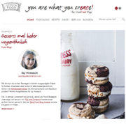 "StockFood launcht Food-Blog ""you are what you crEATe"""