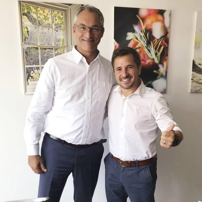 Martin Skultety und Rafa Lanus