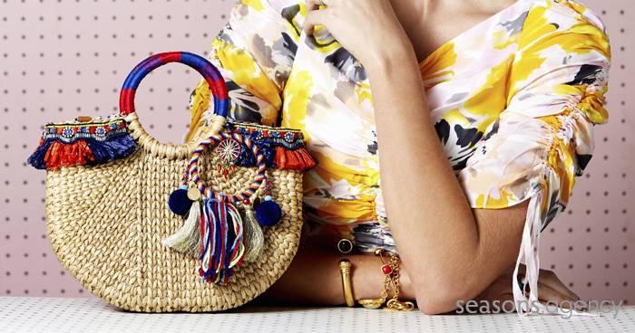 Trend: Taschen aus Korb, Bast & Co.