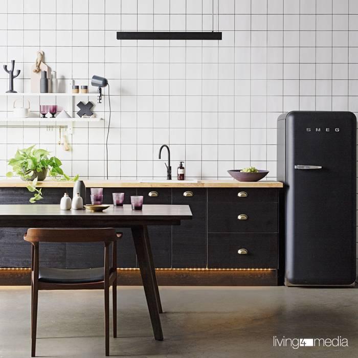Elegant und außergewöhnlich: Dunkle Küchen
