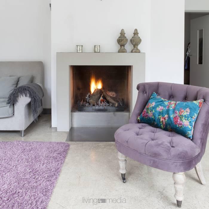 Wohlig-wärmende Home Inspiration: Kamin als cooler Allrounder