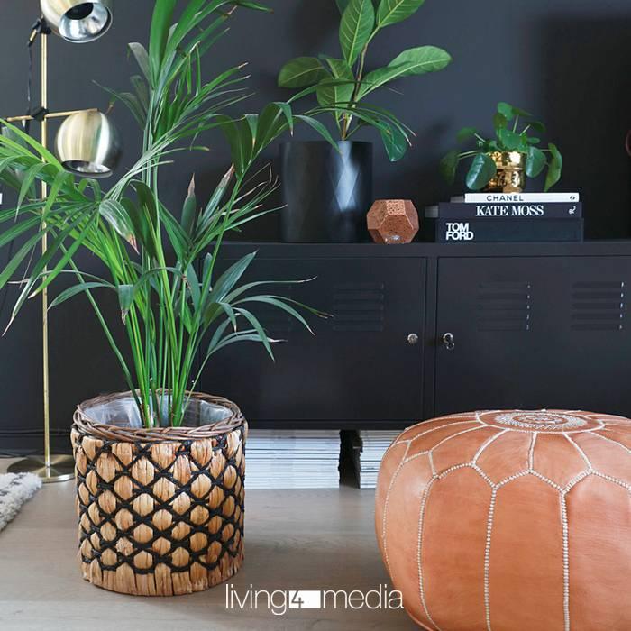 Im Trend: Möbel mit pfiffigen Leder-Accessoires